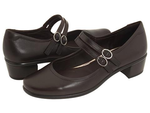 Pantofi ECCO - Pearl Mary Jane - Coffee Leather