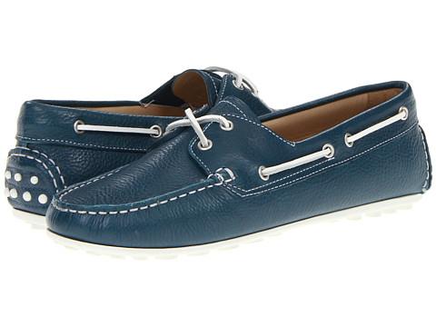 Pantofi ECCO - Cuno Boat Shoe Tie - Denim Blue
