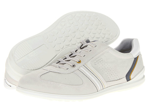 Adidasi ECCO - Chander Tie - Shadow White/Olive O./Ombre/White/Basalt/Bliss/Bliss/Bliss