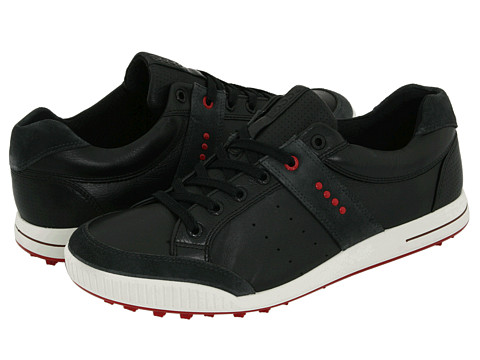 Adidasi ECCO - Street Premiere - Moonless/Black/Chili Red