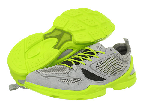Adidasi ECCO - Biom Lite Evo Racer - Concrete/Dark Shadow/Lime Punch