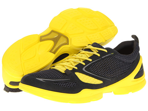 Adidasi ECCO - Biom Lite Evo Racer - Dark Shadow/Dark Shadow/Buttercup
