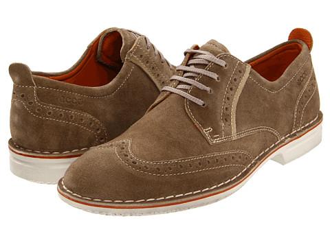 Pantofi ECCO - Adar Wing Tip Tie - Navajo Brown