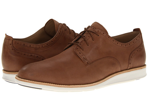 Pantofi ECCO - Clayton Plain Toe Tie - Cognac Starbuck