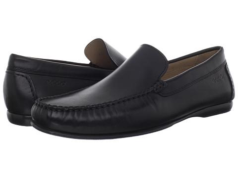 Pantofi ECCO - Cay Plain Moc - Black Leather