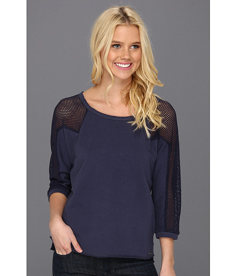 Pulovere Roxy - Blocked Out Top - Topez/Navy Blue