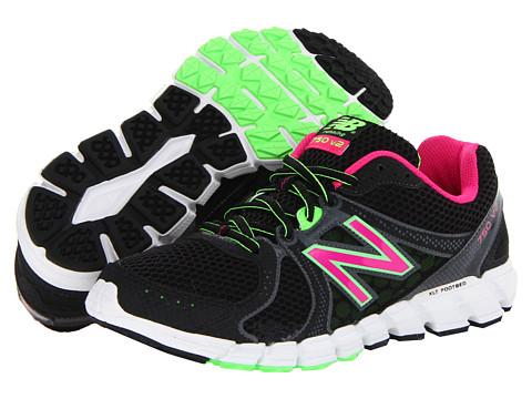 Adidasi New Balance - W750v2 - Black/Magenta