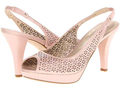 Pantofi Anne Klein New York - Restup - Light Pink Leather