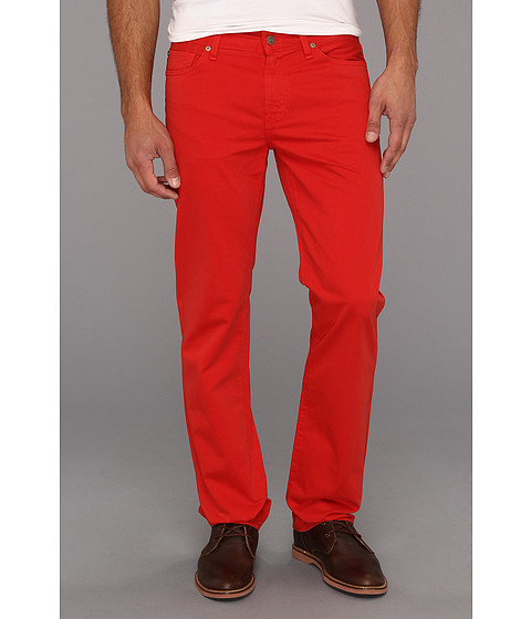 Blugi 7 For All Mankind - Slimmy in Passion Red - Passion Red