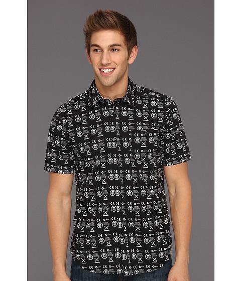 Camasi Volcom - Skullphone S/S Shirt - Black
