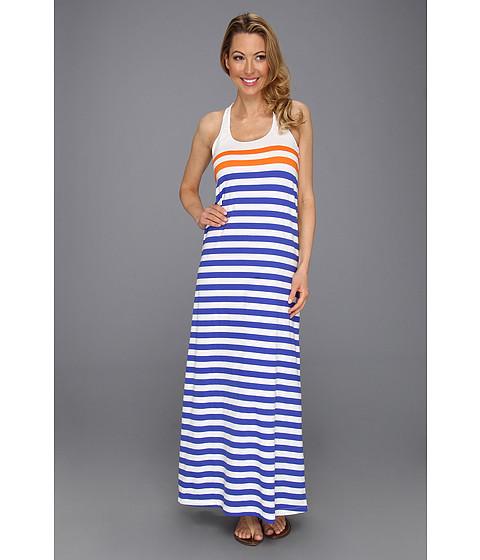 Rochii Tommy Bahama - Stripe Long Tank Dress - Periwinkle/Vinaros/White