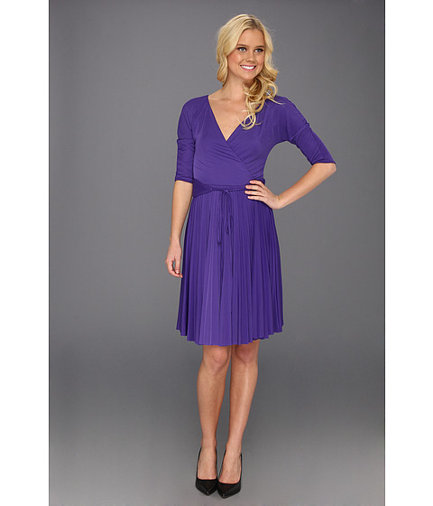 Rochii BCBGMAXAZRIA - Cruz The Mid Sleeve Dress - Persian Blue