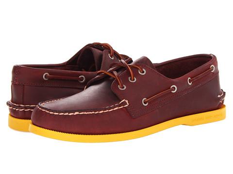 Pantofi Sperry Top-Sider - A/O - Oxblood/Yellow