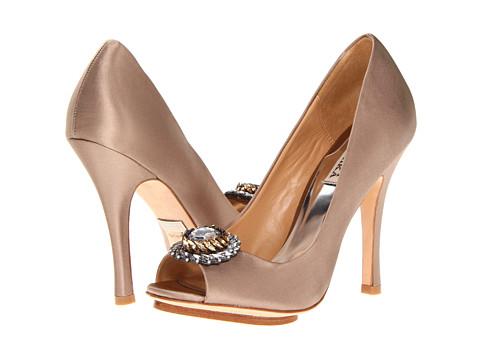 Pantofi Badgley Mischka - Beaming - Taupe Satin