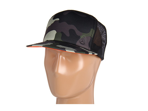 Sepci Nixon - Snap Shot Trucker Hat - Woodland/Camo