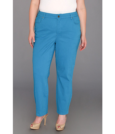Blugi Anne Klein New York - Plus Size AKJ - Leo Skinny Jean - Watercolor - Capri