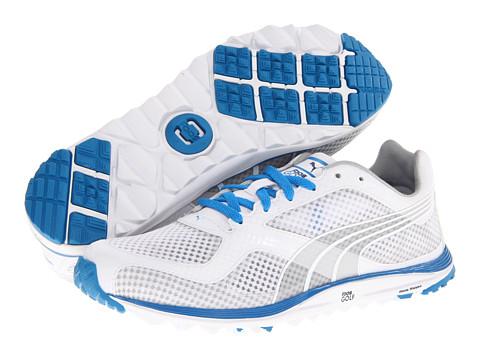Adidasi PUMA - FAAS Lite Mesh - White/Brilliant Blue