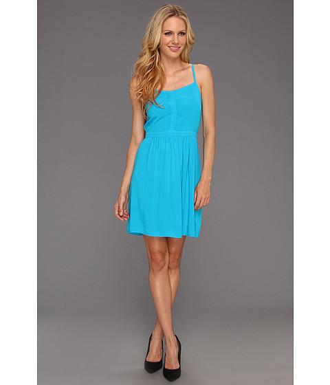 Rochii Splendid - Darted Tank Dress - Turkish Blue