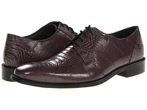 Pantofi Stacy Adams - Pisa - Gray Eelskin & Ostrich Leg Print Leather