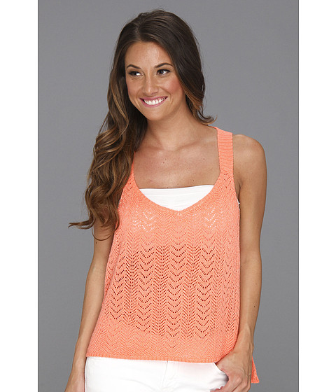 Tricouri Type Z - Heidi Knit Tank Top - Orange