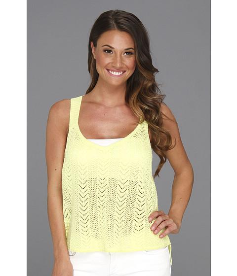 Tricouri Type Z - Heidi Knit Tank Top - Yellow
