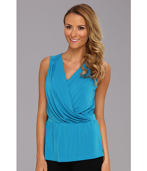 Bluze Anne Klein New York - S/L Drape Neck Top - Capri