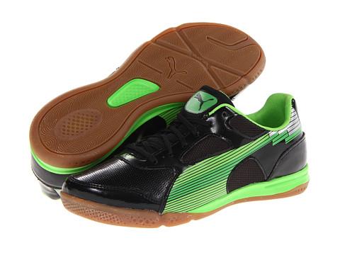 Adidasi PUMA - evoSPEED 4 Sala - Black/Fluo Green/Classic Green/Silver Metallic