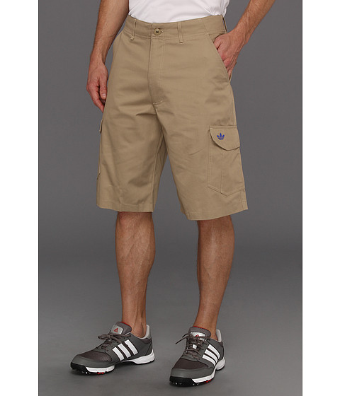 Pantaloni Adidas Originals - Workwear Cargo Short - Clear Sand/True Blue