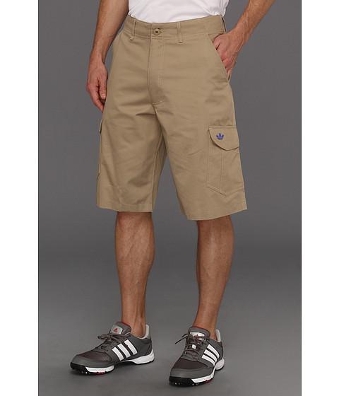 Pantaloni Adidas Originals - Workwear Cargo Short - Clear Sand/True Blue