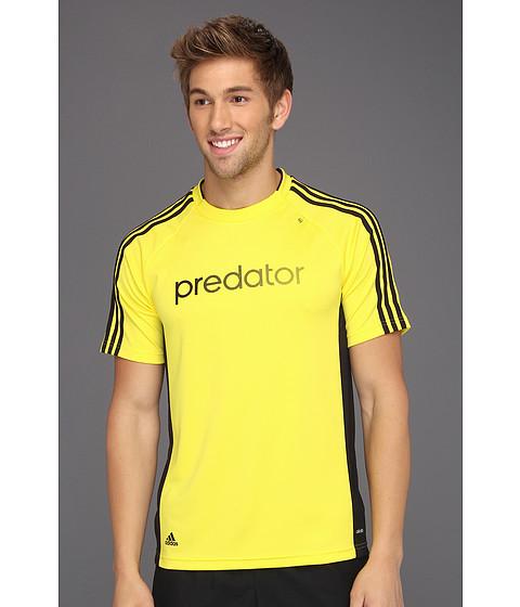 Tricouri adidas - Predator Climalite Soccer Tee - Vivid Yellow/Black