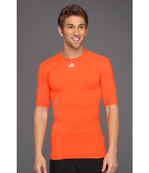 Tricouri adidas - techfitâ⢠Compression Short-Sleeve Tee - Infrared