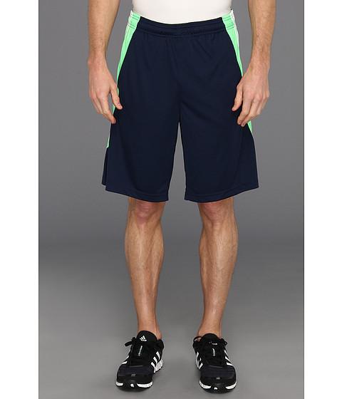 Pantaloni adidas - Clima Max 2 Short - Collegiate Navy/White/Vivid Green