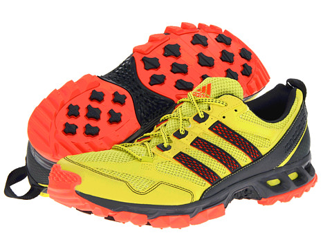 Adidasi Adidas Running - Kanadia 5 TR - Lab Lime/Dark Onix/InfraRed