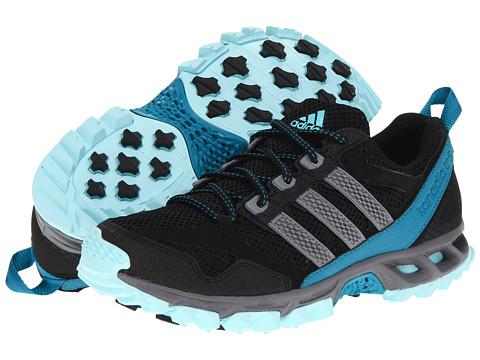 Adidasi Adidas Running - Kanadia 5 TR W - Black/Tech Grey/Blue Zest