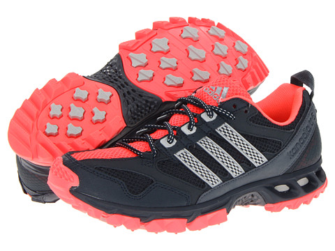 Adidasi Adidas Running - Kanadia 5 TR W - Tech Onix/Light Onix/Red Zest