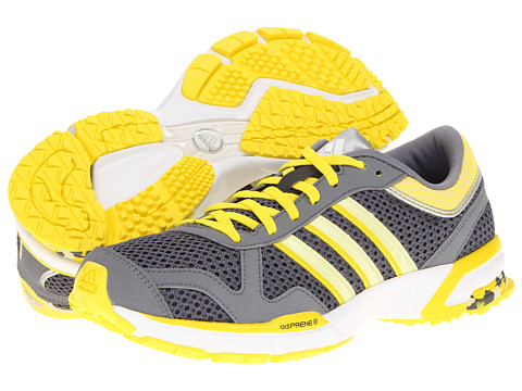 Adidasi Adidas Running - Marathon 10 W - USA - Sharp Grey/Haze Yellow/Vivid Yellow
