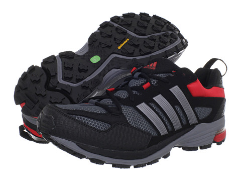 Adidasi Adidas Running - Supernova Riot 5 - Black/Neo Iron Metallic/Vivid Red