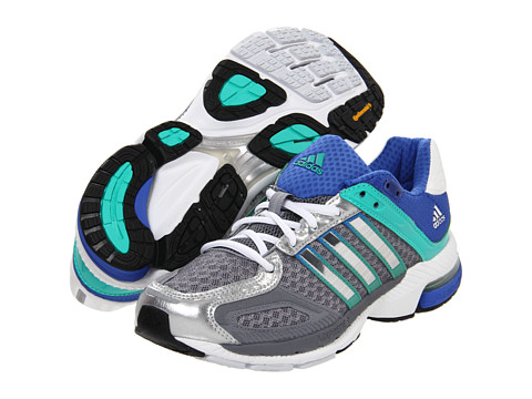 Adidasi Adidas Running - Supernovaâ⢠Sequence 5 W - Tech Grey/Metallic Silver/Hyper Green