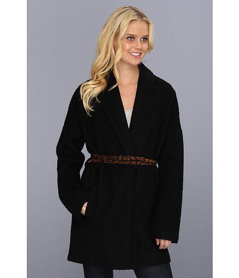 Jachete BCBGMAXAZRIA - Allesandra Classic Coat - Black