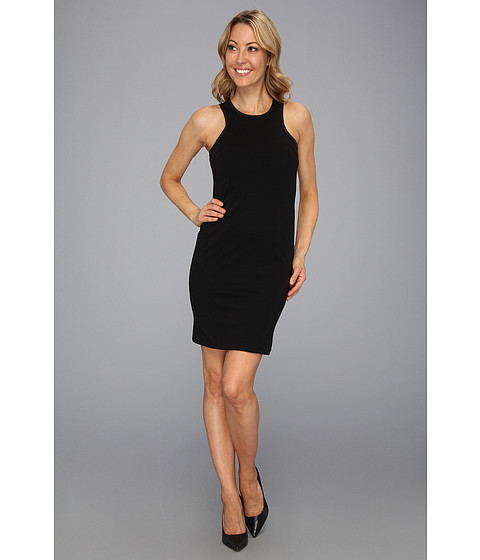 Rochii Kenneth Cole - Elysia Ponte Tank Dress - Black