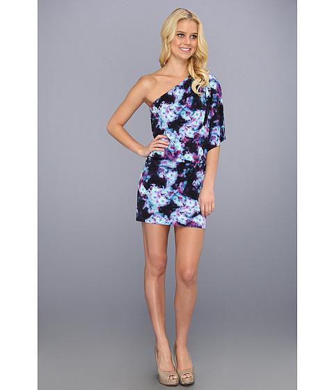 Rochii Jessica Simpson - One Shoulder Mini Dress - Ebro Royal Blue