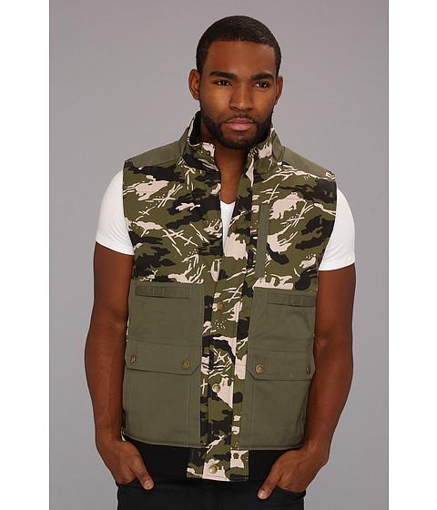 Jachete ECKO - Triple Threat Vest - Camo Green