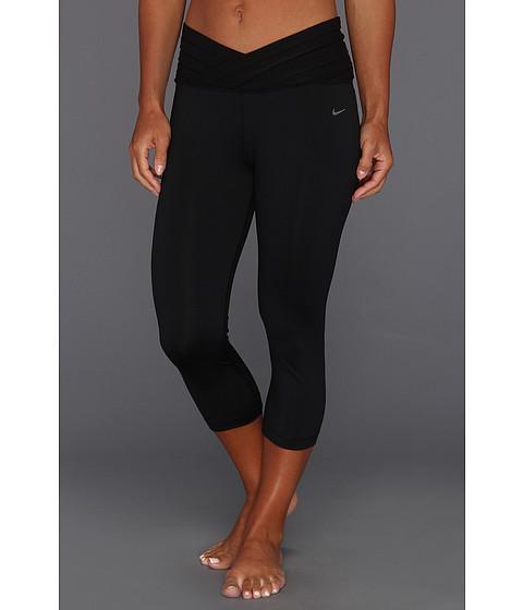 Pantaloni Nike - Gym OM Capri - Black/Matte Silver
