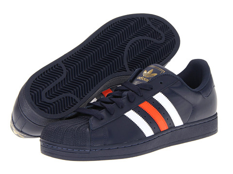 Adidasi Adidas Originals - Superstar 2 - New Navy/White/Collegaite Orange