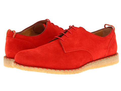 Adidasi Marc Jacobs - Suede Oxford with Translucent Sole - Red
