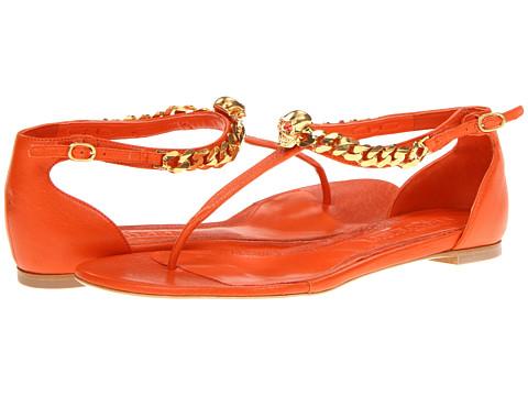 Sandale Alexander McQueen - 314745WANY0 7535 - Orange