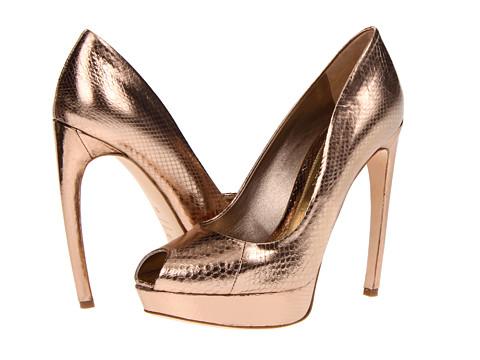 Pantofi Alexander McQueen - Sandal Pelle - Foil Ayers - Pink/Silver