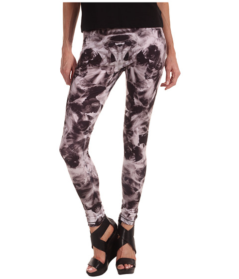 Pantaloni McQ - Printed Leggings - Black/White