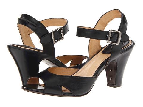 Pantofi Frye - Skyler Seam - Black Smooth Full Grain