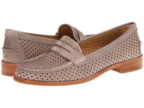Pantofi Frye - Dalia Perf Penny - Cement Vintage Veg Tan